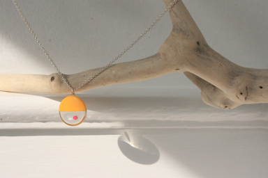 mini yellow pendant
